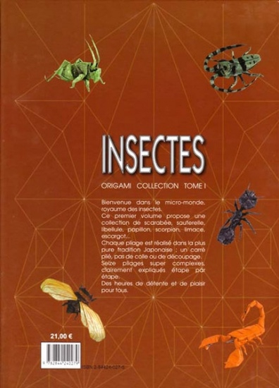 InsectsOrigamiCollection